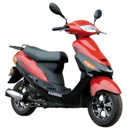 Mofa Roller by 50cc 4 Stroke Boom Moped Scooter Pyt