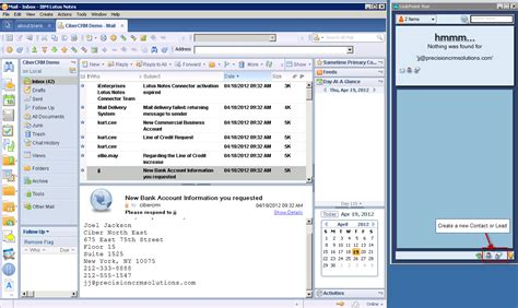 Lotus Notes Crm Lotus Notes Customers Can Use Microsoft Crm Also C Xrm
