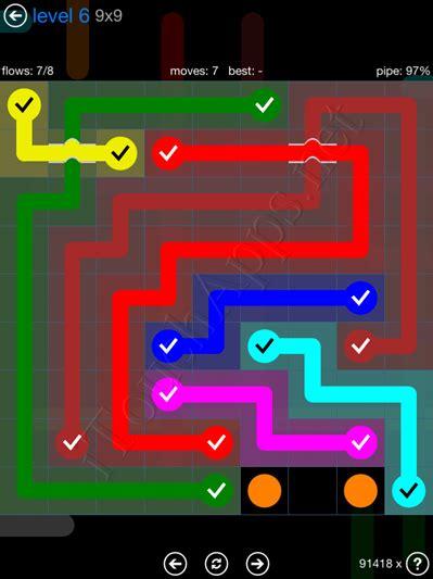 coding level 6 solution flow bridges blue pack 9x9 level 6 solution