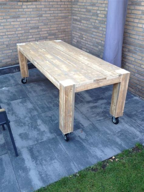 Dining Tables On Wheels Dining Table Outdoor Wheels P R O J E C T S Pinterest Tables Dining Tables And Wheels