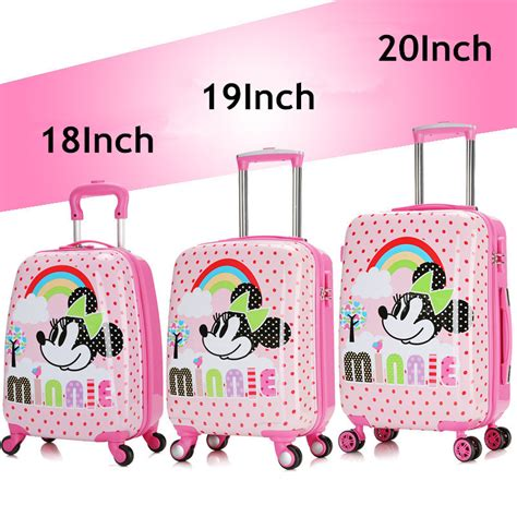 Samsonite Koffer Aufkleber by Online Kaufen Gro 223 Handel Mickey Maus Trolley Aus China