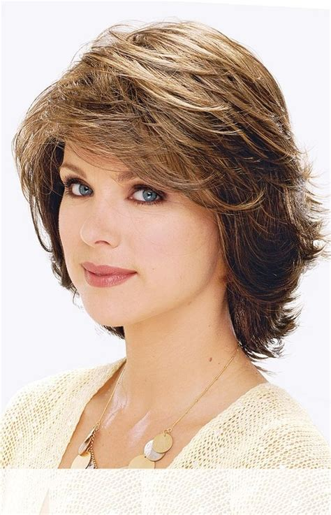 short layered bob sides feathered back haircut feathered up sides medium hairstyles with bangs