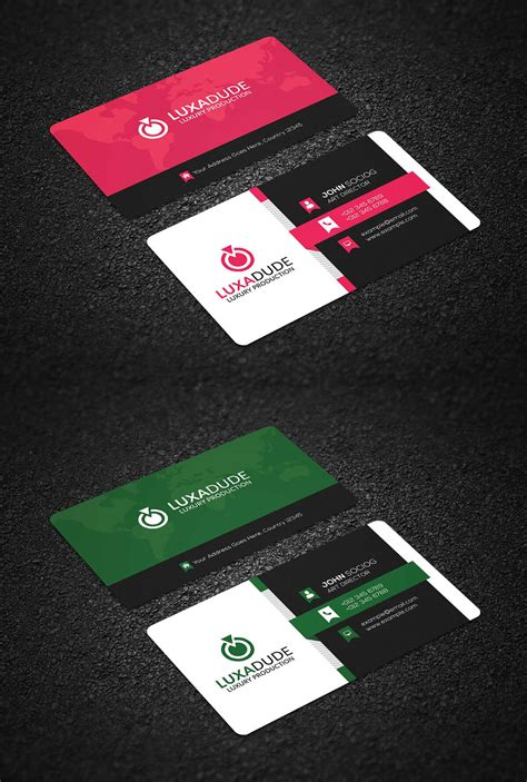 Free Business Card Templates In Psd Format by Free Corporate Business Card Psd Template Creativetacos