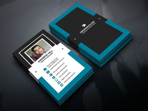 100 Free Business Cards Psd 187 The Best Of Free Business Cards Business Card Template