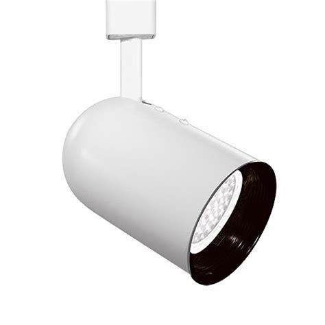 par20 white back cylinder black baffle track light