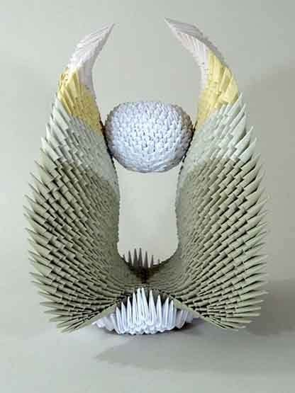 3d Origami Sculptures - with francene levinson all things paper