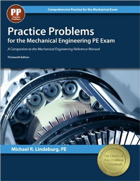 practice problems for mechanical engineering pe 13th
