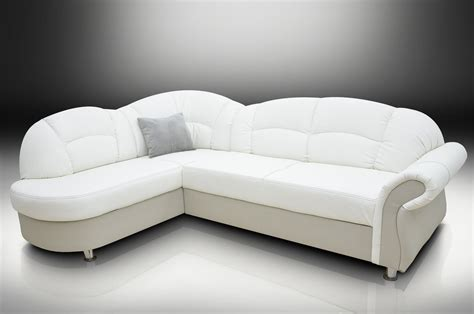 White Leather Futon Sofa Bed Lovable Leather Corner Sofa Bed With Sofa Bed White Leather Russcarnahan