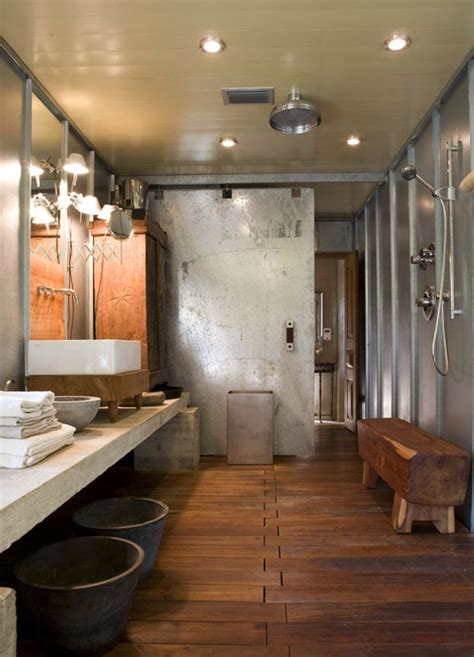 rustic bathroom shower ideas 39 cool rustic bathroom designs digsdigs