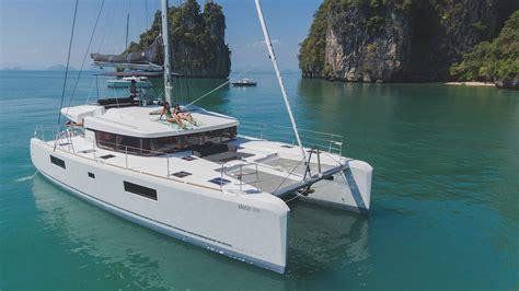 catamaran yacht phuket catamaran rental phuket lagoon 52f for charter boat in
