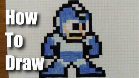 Drawing 8 Bit Characters by How To Draw 8 Bit Mega