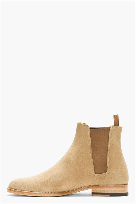 laurent mens chelsea boots laurent suede chelsea boots in for