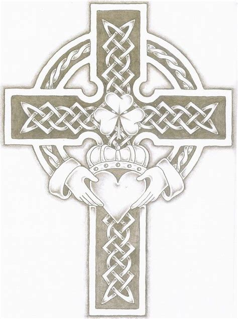 celtic cross and claddagh tattoo best 25 claddagh ideas on