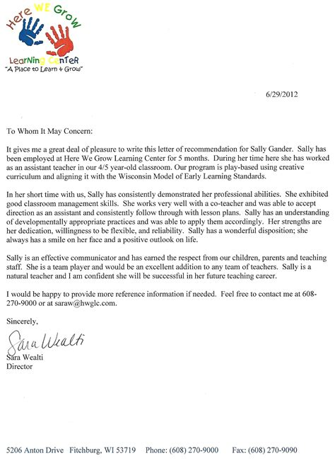 special education paraprofessional cover letter sle