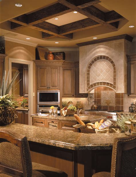 sater designs sater design collection s 6935 quot casa bellisima quot home plan mediterranean kitchen miami by