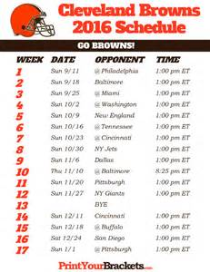 cleveland browns home schedule 2015 nfl grid schedule printable autos post