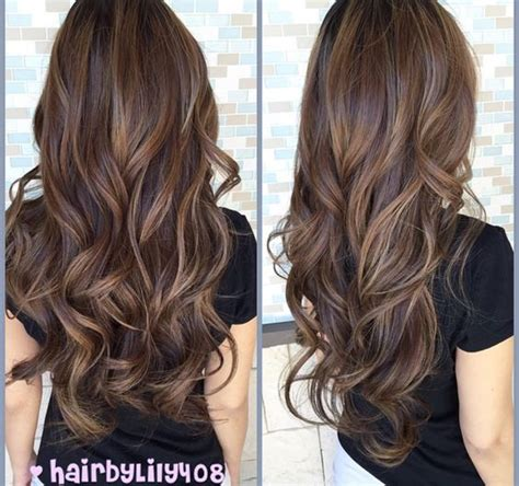 chocolate hair color with caramel highlights 17 best chocolate brown hair color ideas 2018 ihaircuts