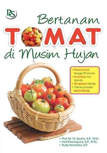 buku bertanam tomat dimusim hujan buku laris
