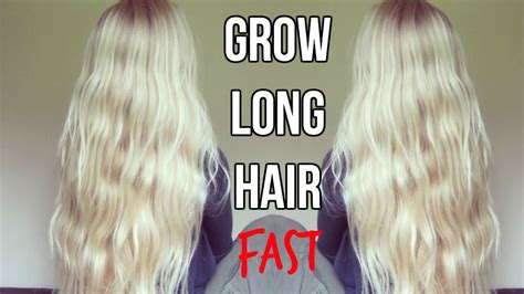10 ways to grow long hair fast how to grow long hair fast 10 tips hair care routine