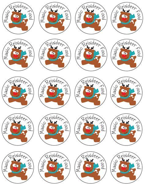 printable reindeer christmas tags magic reindeer food tags it s the most wonderful time of