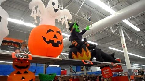 halloween display of latest items for sale at walmart