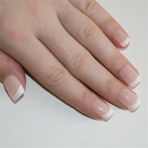 Nail For Medium Nails by False Nails By Bling White Manicure Medium