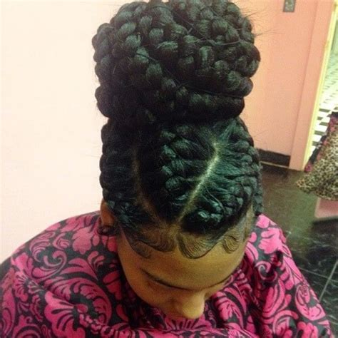 in a bun 6 goddess braids in a bun pertaining to home modern hairstyle