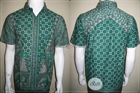 Kemeja Batik Ijo baju batik tulis warna ijo bagus mewah mahal dan elegan ld385t s toko batik 2018