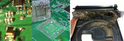 motherboard capacitor overheating signs of laptop motherboard failure pc repair miami 45 flat rate official site