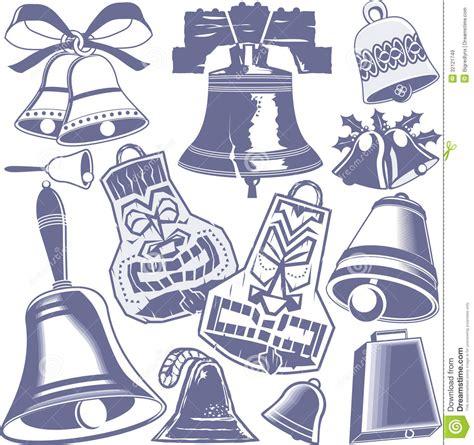 raccolta clipart raccolta di bell illustrazione vettoriale illustrazione