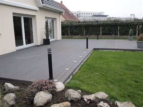 Idee Amenagement Terrasse Exterieure by Grand Idee Terrasse Amenagement Exterieur De Maison Pot