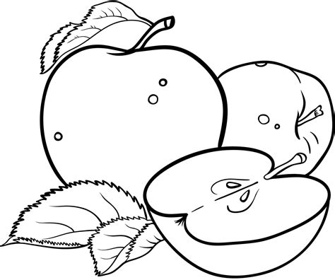 apple coloring pages banana coloring page earthworm