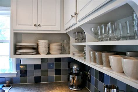 how to stagger existing cabinets 1000 ideas about cabinet shelving on pinterest small
