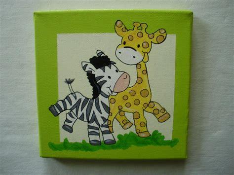 Tierbilder Auf Leinwand by Geburtstafeln Babygeschenke