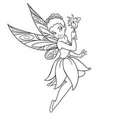 Iridessa Coloring Pages Of Tinkerbell Queen Clarion  sketch template