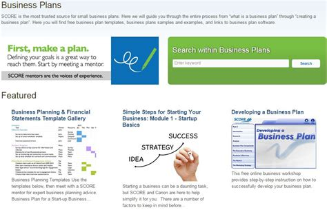 7 Best Free Business Plan Templates Best Free Business Plan Template