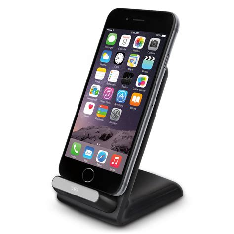 qi wireless charging stand apple iphone   se
