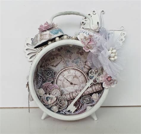 altered vintage alarm clocks   crafty diy inspiration