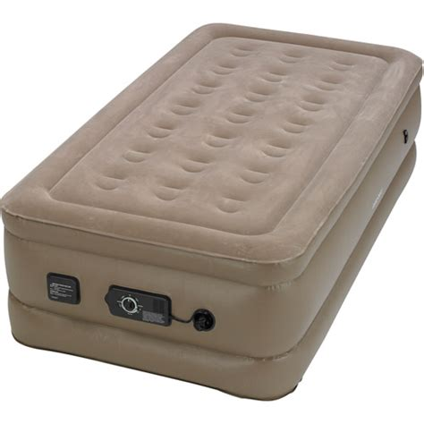 insta bed insta bed raised air bed with neverflat ac pump twin