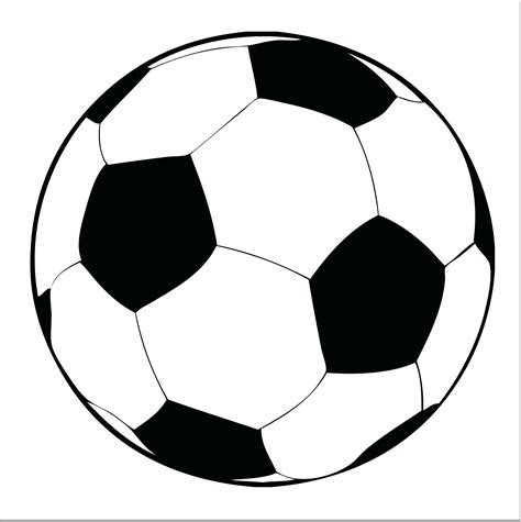 printable images of a soccer ball template soccer ball template