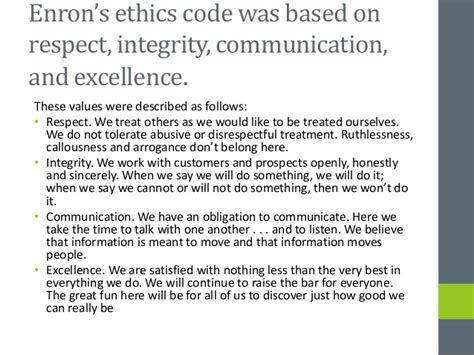 Collapse Of Enron Essay by Sle Enron Essay