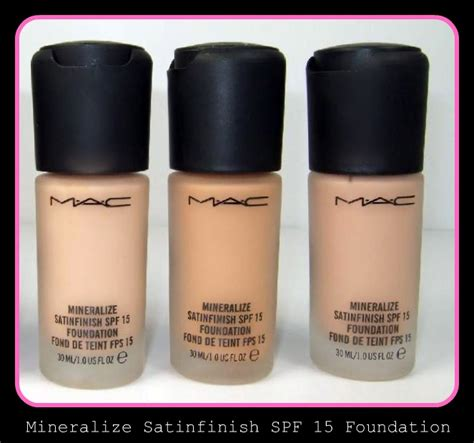 Mac Foundation chelli glam vixen mac mineralize satinfinish spf 15