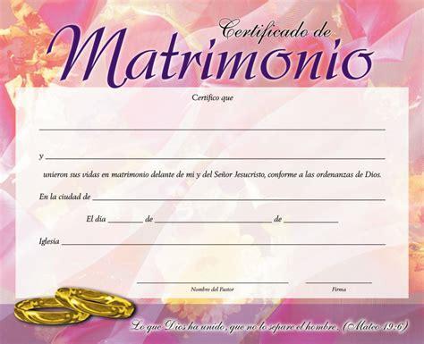 certificado de matrimonio para kermes certificado de matrimonio gt peniel gt losmensajeros com