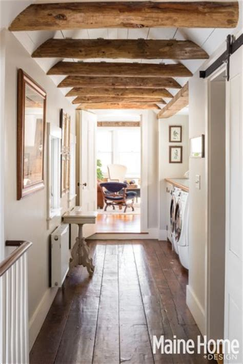 Maine Home Design Magazine A Classic White New Farmhouse In Maine