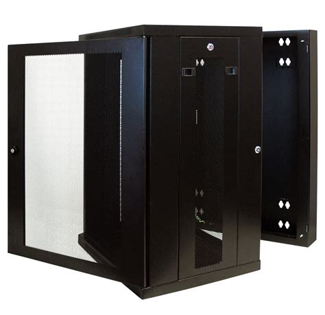 tripp lite srw18us 18u wall mount rack enclosure cabinet