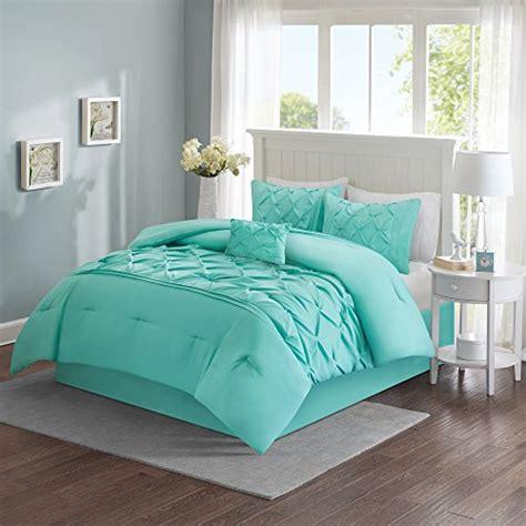 Comfort Spaces Kashmir Comforter Set Comfort Spaces Cavoy Comforter Set 5 Tufted Pattern Aqua Size