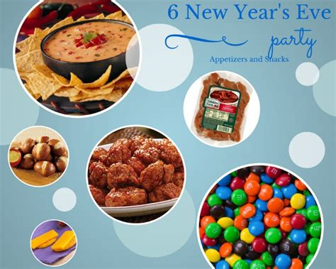 new year snacks 6 new year s appetizers and snacks