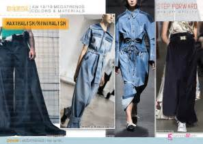 Summer 2017 Design Trends discover the new fall winter 2018 19 denim mega trend