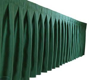 Rosette Chair Covers Table Skirting Box Pleats Table Skirtings Chair Cover