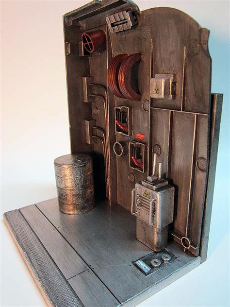 figure base custom industrial figure display base by